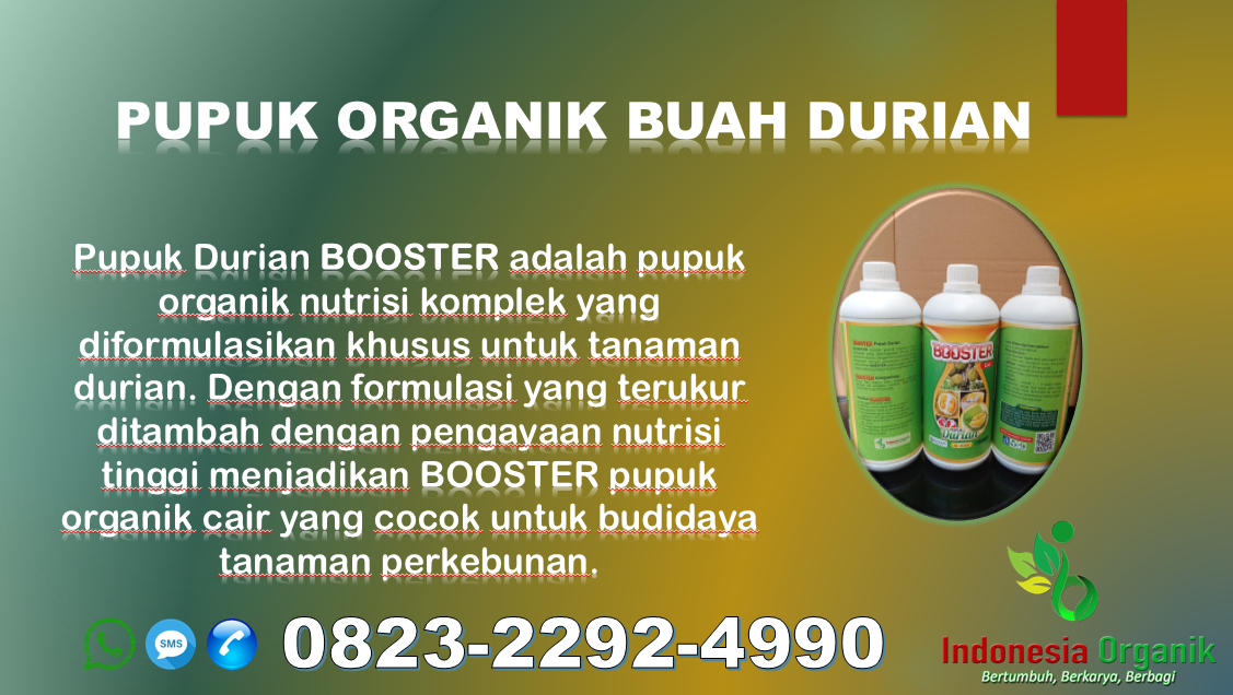 ☑️PENAWARAN..//WA: O823*2292*499O. GROSIR jual pupuk durian Pangandaran, AGEN pupuk durian kampung Purwakarta, MURAH pupuk kilat durian Subang